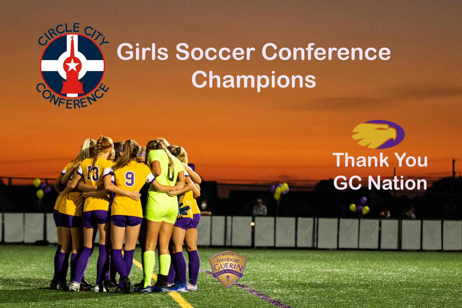 GC Girls' Soccer Senior Night