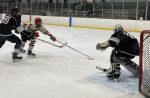 Varsity Hockey with 3-0 Win over Miami Redhawks