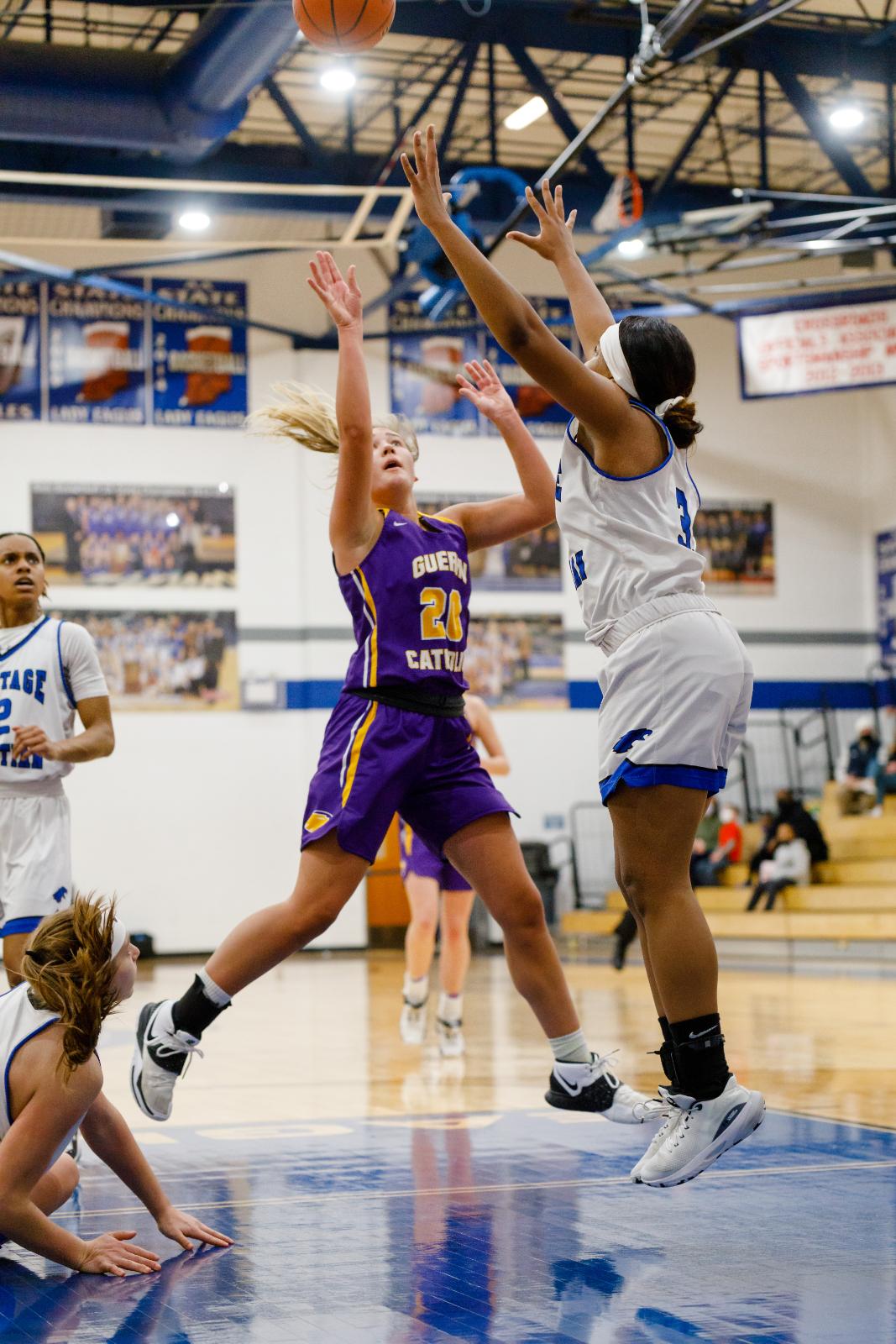 GC Girls Basketball Sectionals vs Heritage Christian 2.5.21