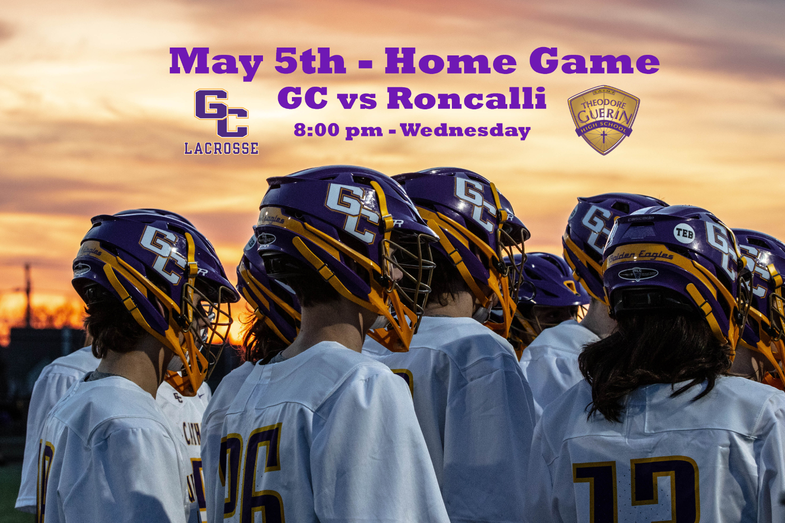 May 5th – GC vs Roncalli at the Nest