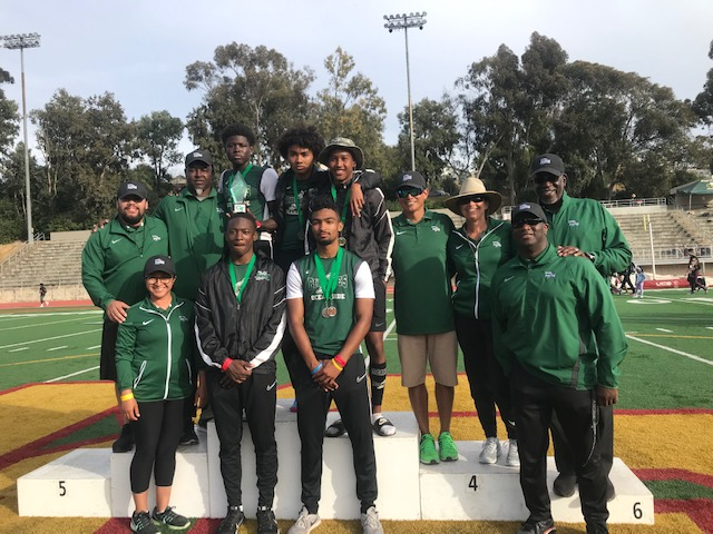 Boys track snags second place at CIF meet