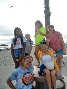 Oceanside Girls Novice Volleyball Team Building Day at the Beach!