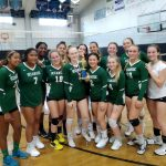 Girls volleyball finishes second at Calvin Christian Tourney