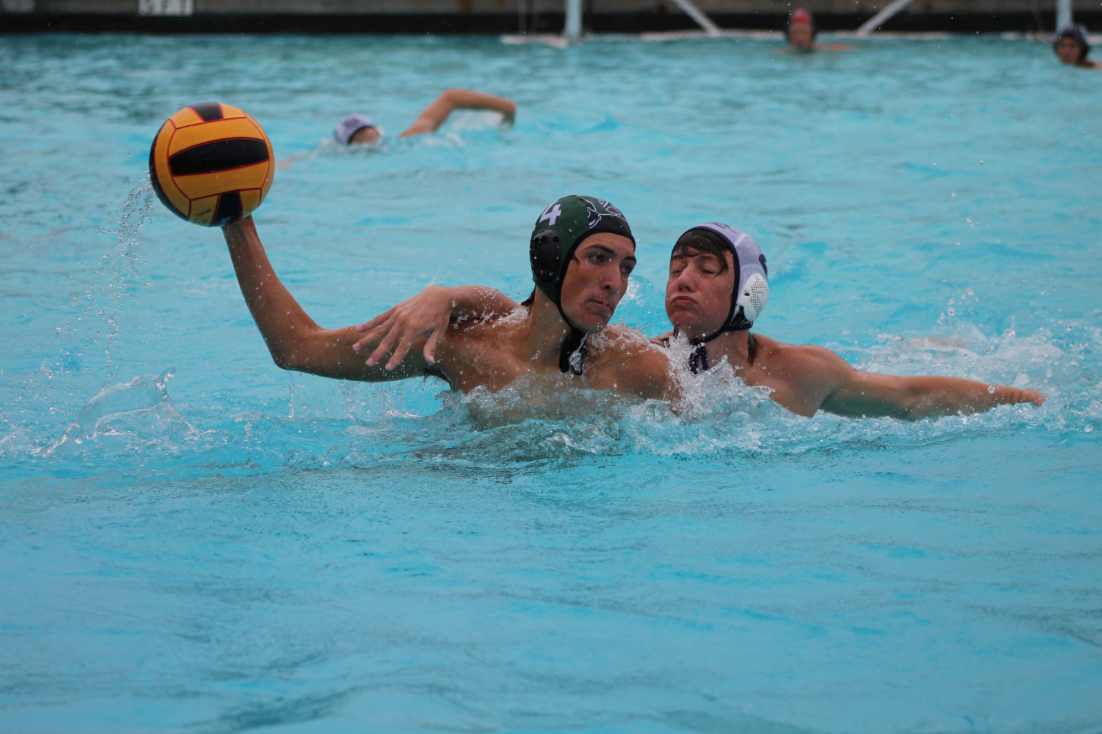 Boys water polo sweeps Knights