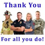 Military and First-Responder Appreciation Night