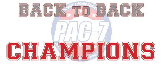 GIRLS BASKETBALL PAC-7 CHAMPIONS