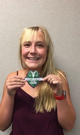 Student Athlete of the Week – Natalie Stalie