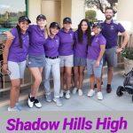 Shadow Hills Girls Golf beats Banning High School 275 – 354