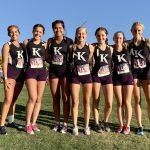 Girls Varsity CROSS COUNTRY finishes 2nd at the Desert Empire League Preview