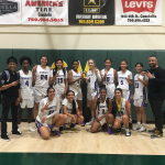 Lady Knights come in 2nd Place in the Rob Diaz Winter Classic