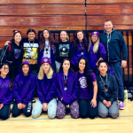 Lady Knights had 6 medalists and 4 fourth place finishers at the Channel Islands Wrestling Tournament
