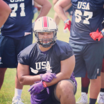 Our very own 5'10, 295 pound Defensive Lineman, Nathaniel Esquivez played in the International Bowl on 1/14/2020 at AT&T Stadium.
