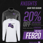 Attention Knights Nation! Don't forget our Shadow Hills Athletics Sideline Store is OPEN for business.