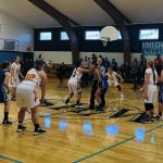 Girls Varsity Basketball VS Dayville / Monument 34 – 23