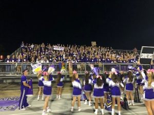 Purple Rain Student Section
