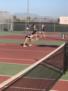 Girls Tennis CIF Semi-Final vs. University City