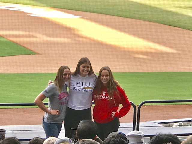 Sultans Honored at Petco Park National Signing Day
