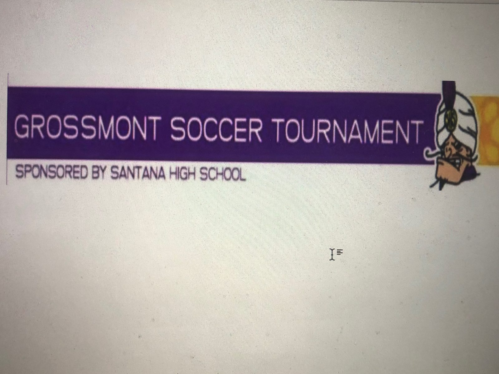 41st Annual Grossmont Tournament