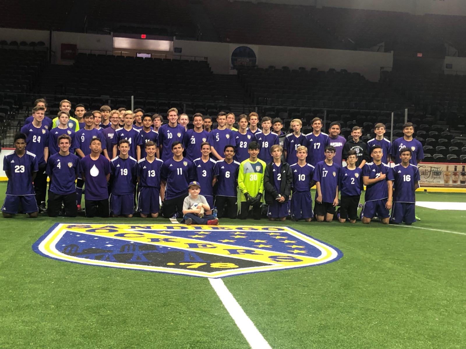 San Diego Sockers Night Boys Soccer