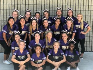 Co-Ed Sideline Cheer Takes Home Top Honors at NCA Camp and District Skills Clinic