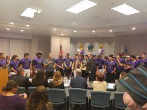 City Hall Presentation Of Mayor's Cup