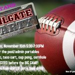 Student Tailgate Party Friday Before CIF Football Game