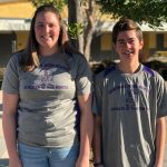 Santana Male and Female Athletes of the Month