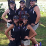 Girls Golf in Regional Action Monday