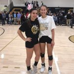 Janssens and Hatten Participate in Volleyball All-Star Game