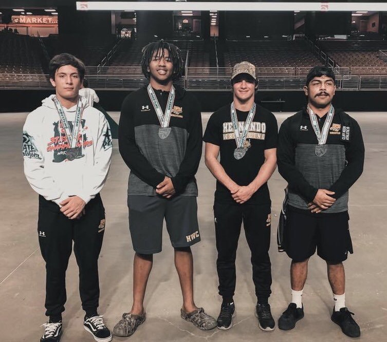 4 Wrestlers Place in State Tournament; Team 10th out of 65