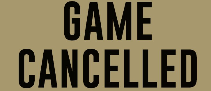 Kick-Off Classic Cancelled