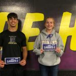 Dorough, Fabela Athletes of the Month
