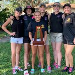 Lady Leopard Golfers Advance to Regionals