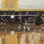 Lady Leopards Advance in Volleyball