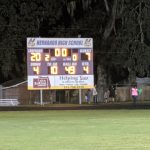 Leopards Claw the District Champ Sharks on Gridiron 20-7