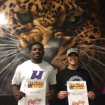 Balogh, McNair Win Athlete of the Month October
