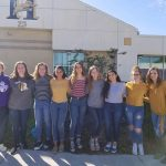 Beta Club Donates Over 2000 Canned Items