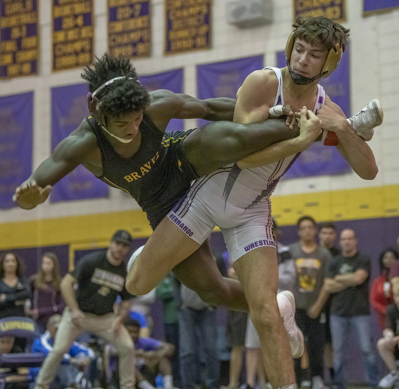 Purple vs. Gold Night in Wrestling