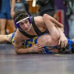 Leopard Wrestlers Clip the Eagles