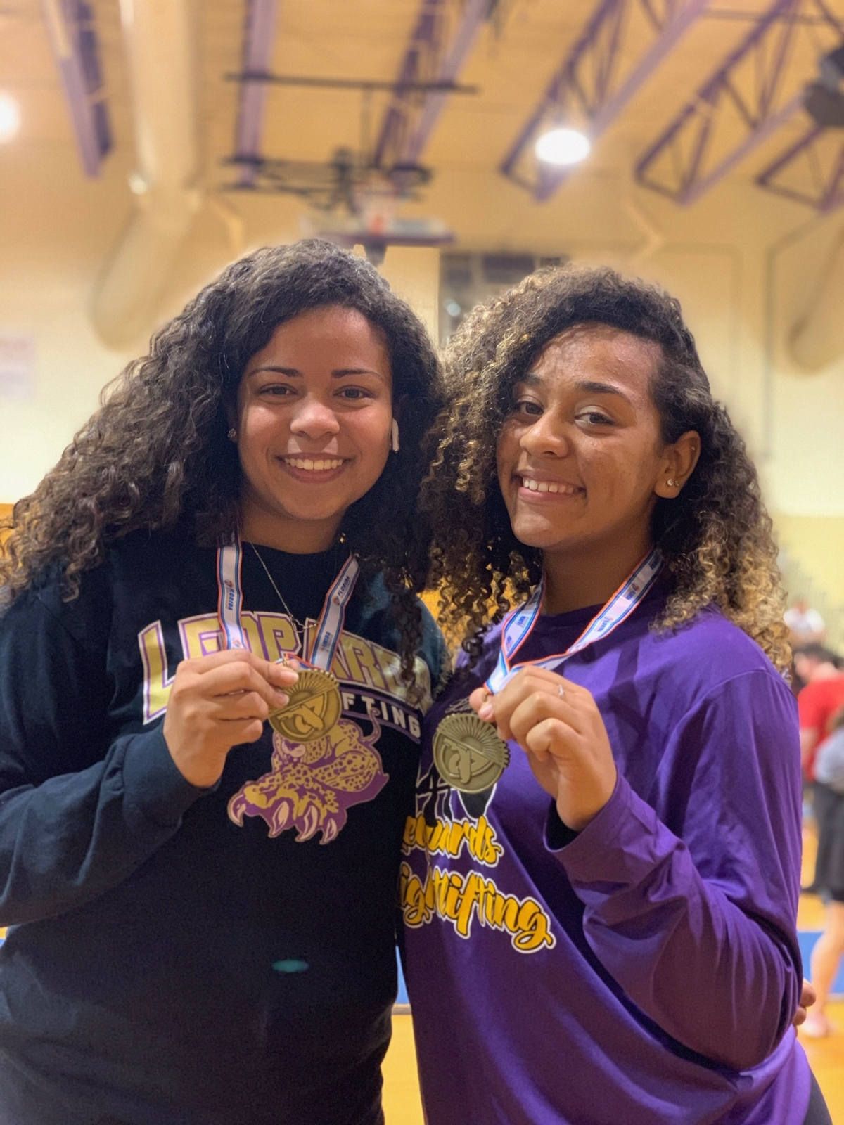 Lady Leopard Lifters Place 2nd