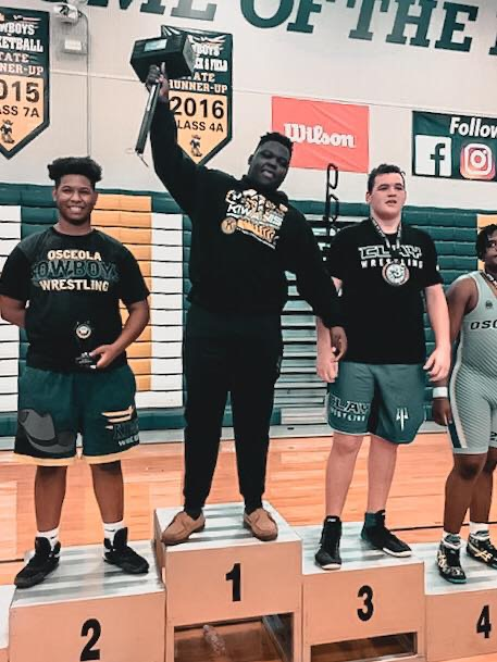 Williams Wins State Title in JV Wrestling