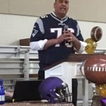Holloway Speaks at Football Banquet