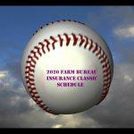 2020 Farm Bureau Classic Schedule