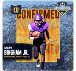 Bingham Jr. Selected to All-Star Game