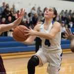 Maddy Vincent leads the Girls' Varsity Basketball team in big Win over Worthington Christian