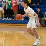 Boys Varsity Basketball falls to Whitehall-Yearling 45 – 43