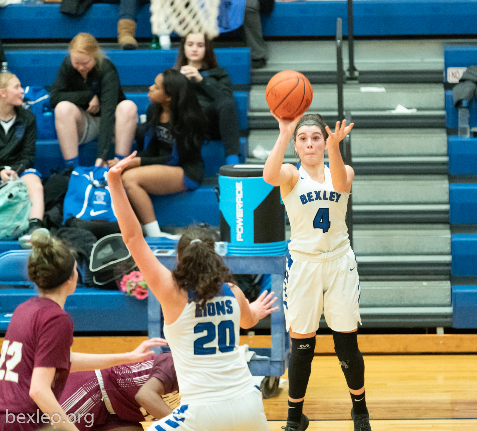 Maddy Vincent nets her 1,000th point but, Lions Fall in OT