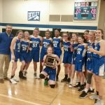 8th Grade Lady Lions Crowned MSL Ohio Champions!
