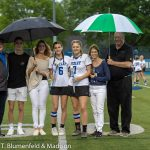 Girls Lacrosse makes senior night special for their two seniors!