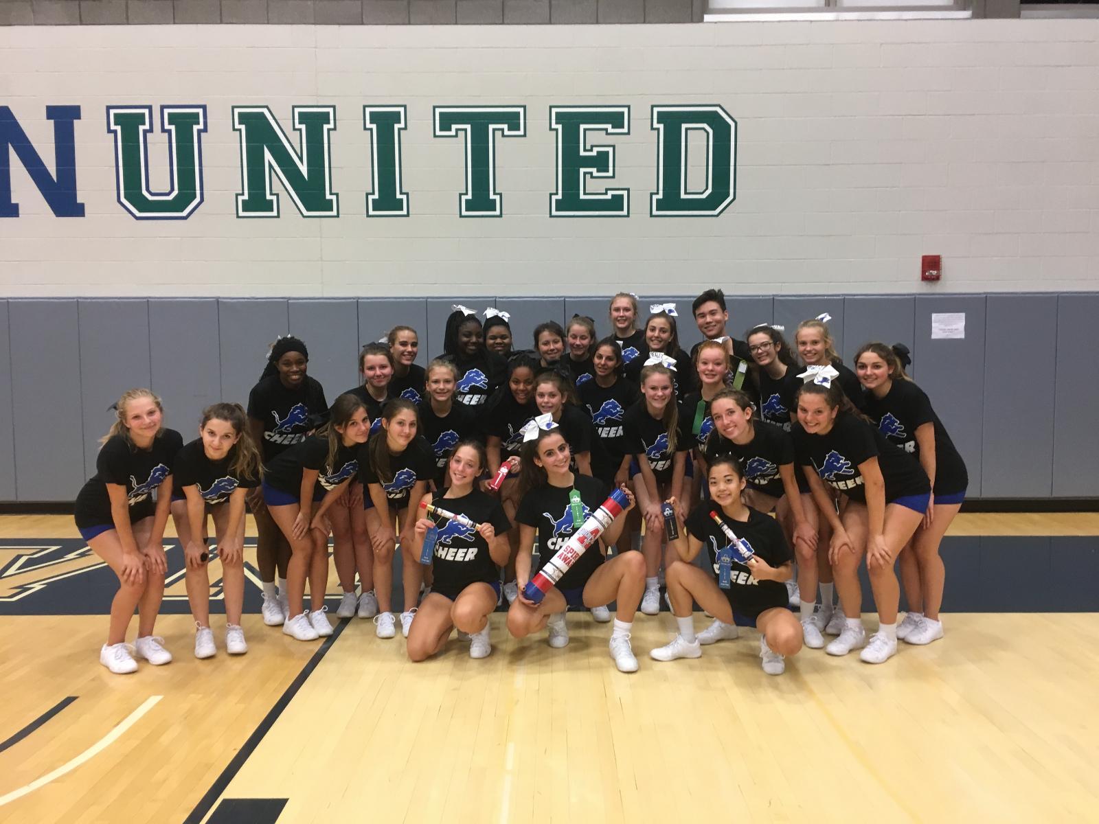 Cheer Team Wins Top Team at AmeriCheer Camp